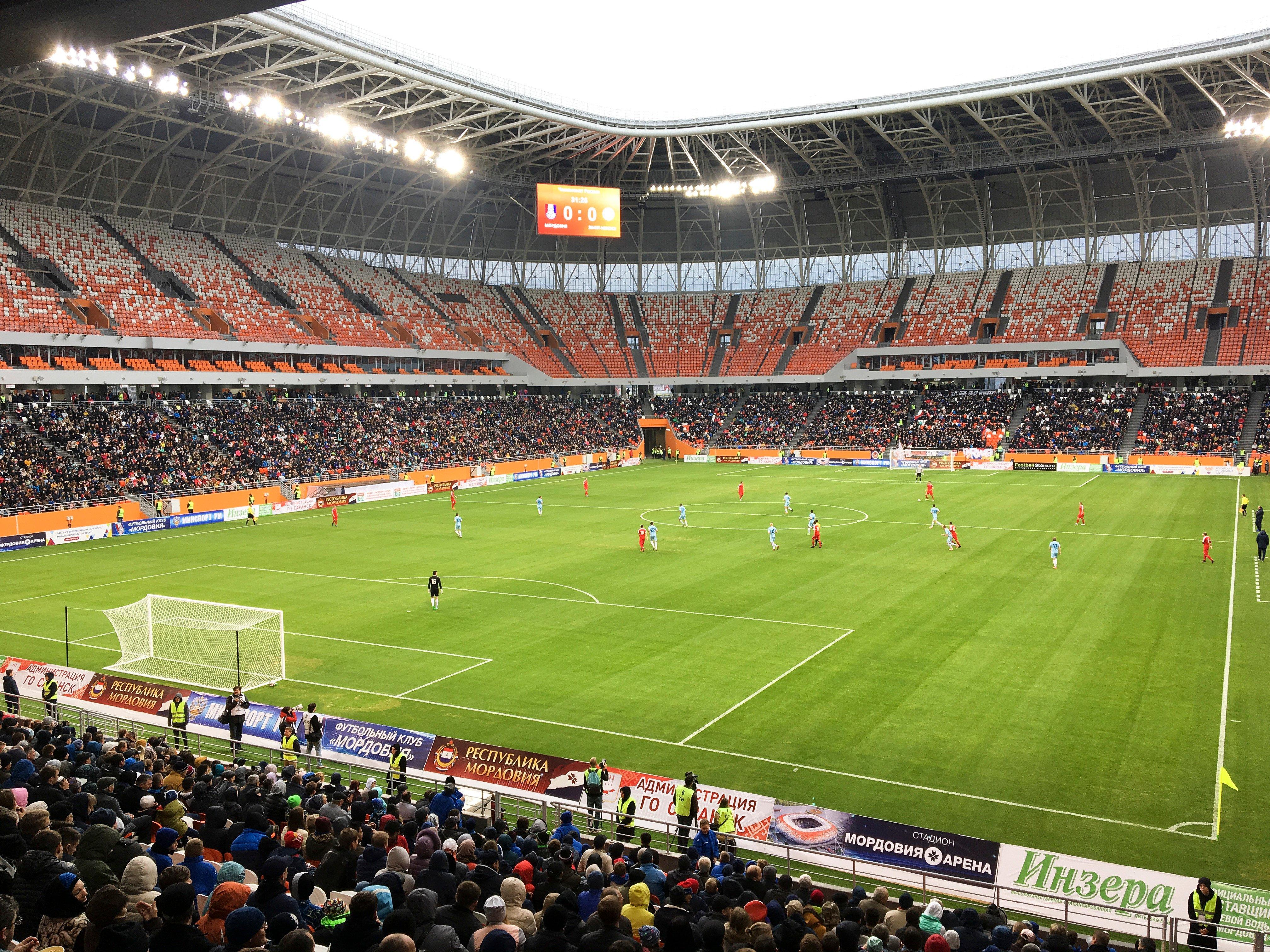 Стадион в Саранске строили с нуля. Стоимость – 15,8 миллиарда рублей.