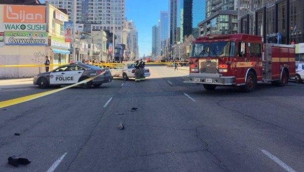 Жертвами наезда фургона стали девять человек