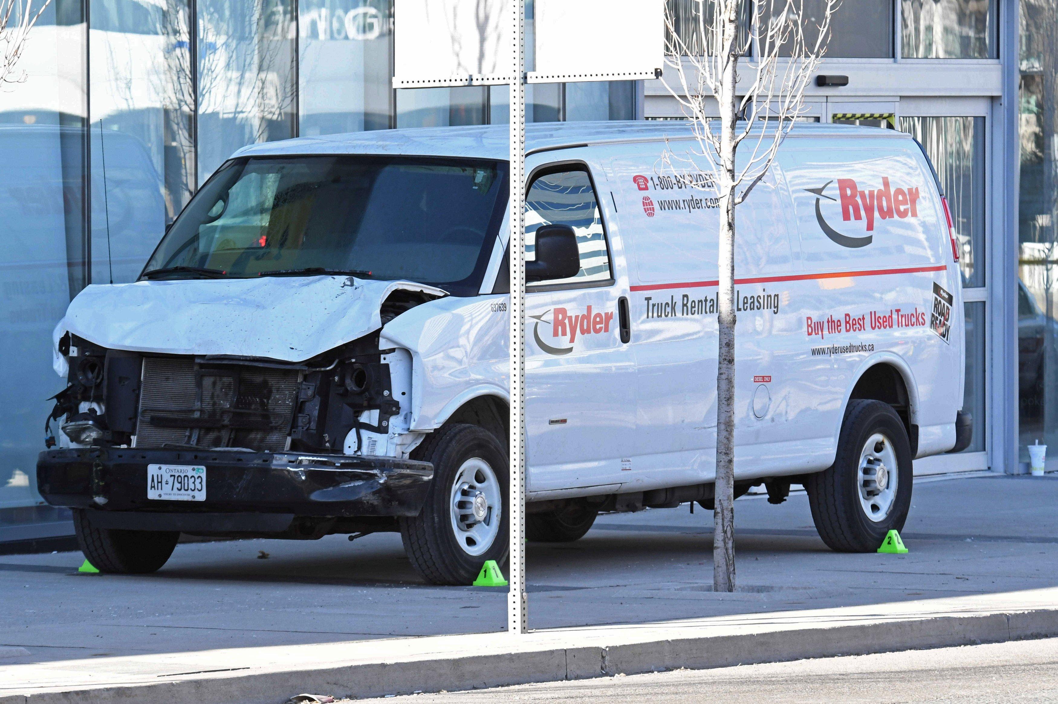 В Канаде возросло количество пешеходов, погибших в результате наезда фургона