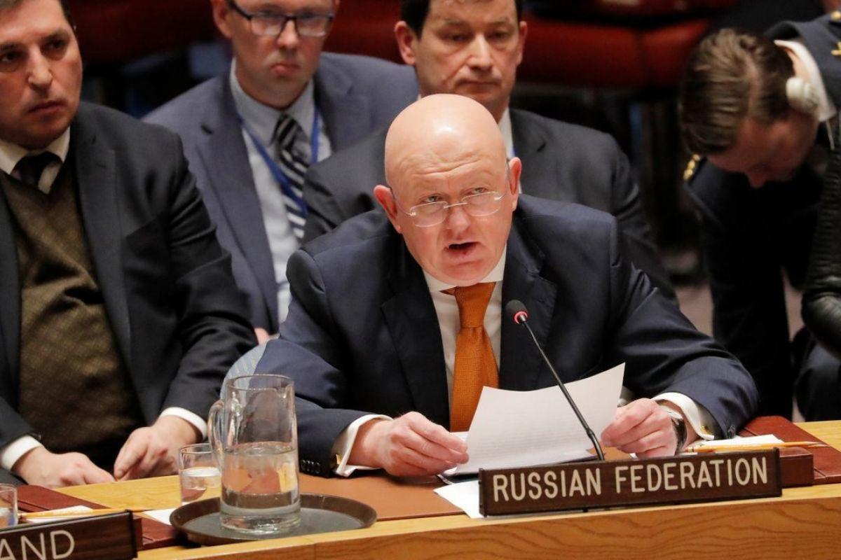 Постпред России в ООН Василий Небензя