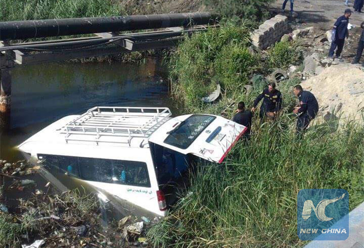 В Египте микроавтобус с туристами попал в ДТП, погибли китайцы