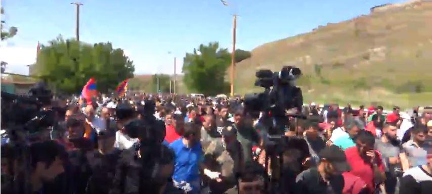 Возобновившийся протест