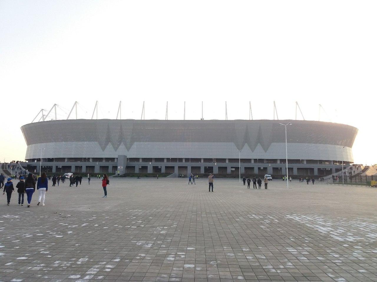 Во время ЧМ-2018 стадион будет вмещать 45 тысяч зрителей, после – 37868.