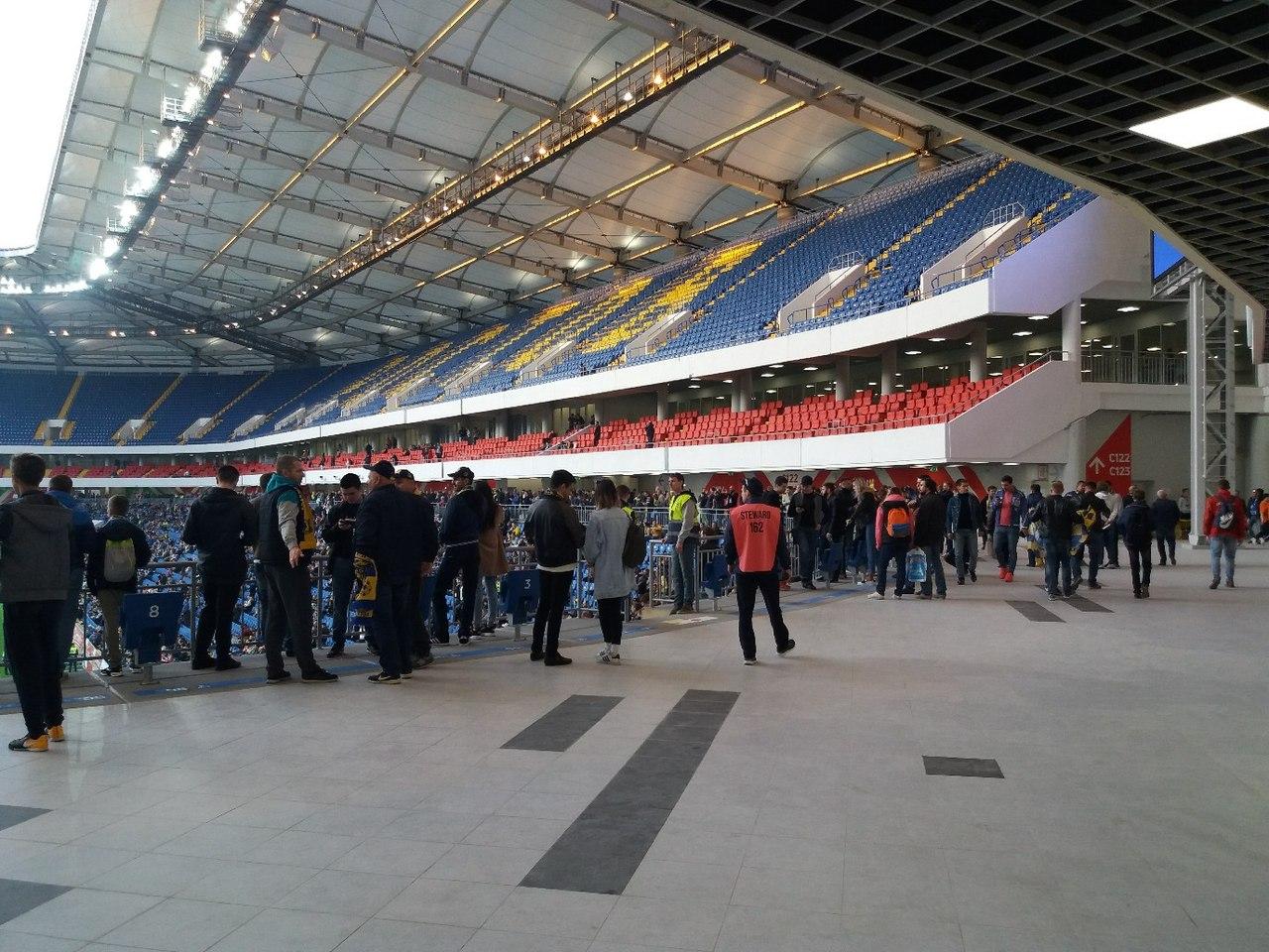 15 апреля впервые состоялся матч «Ростов» - «Хабаровский СК» на новом стадионе.