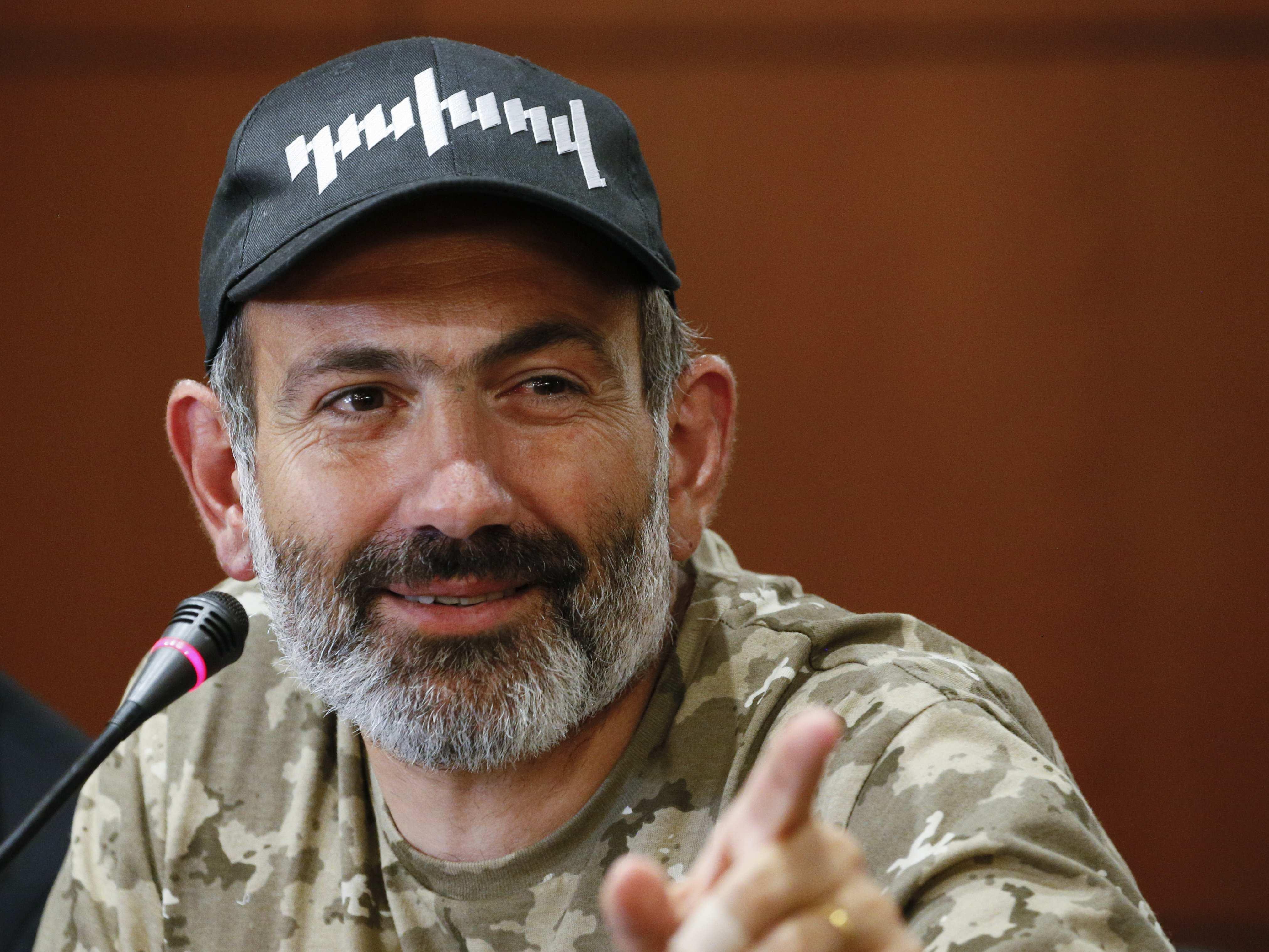 Никола Пашинян выдвинут кандидатом на пост премьера Армении