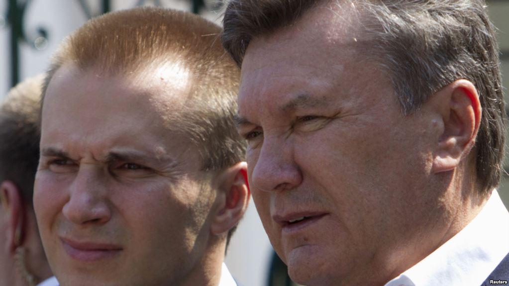 Александр и Виктор Янукович