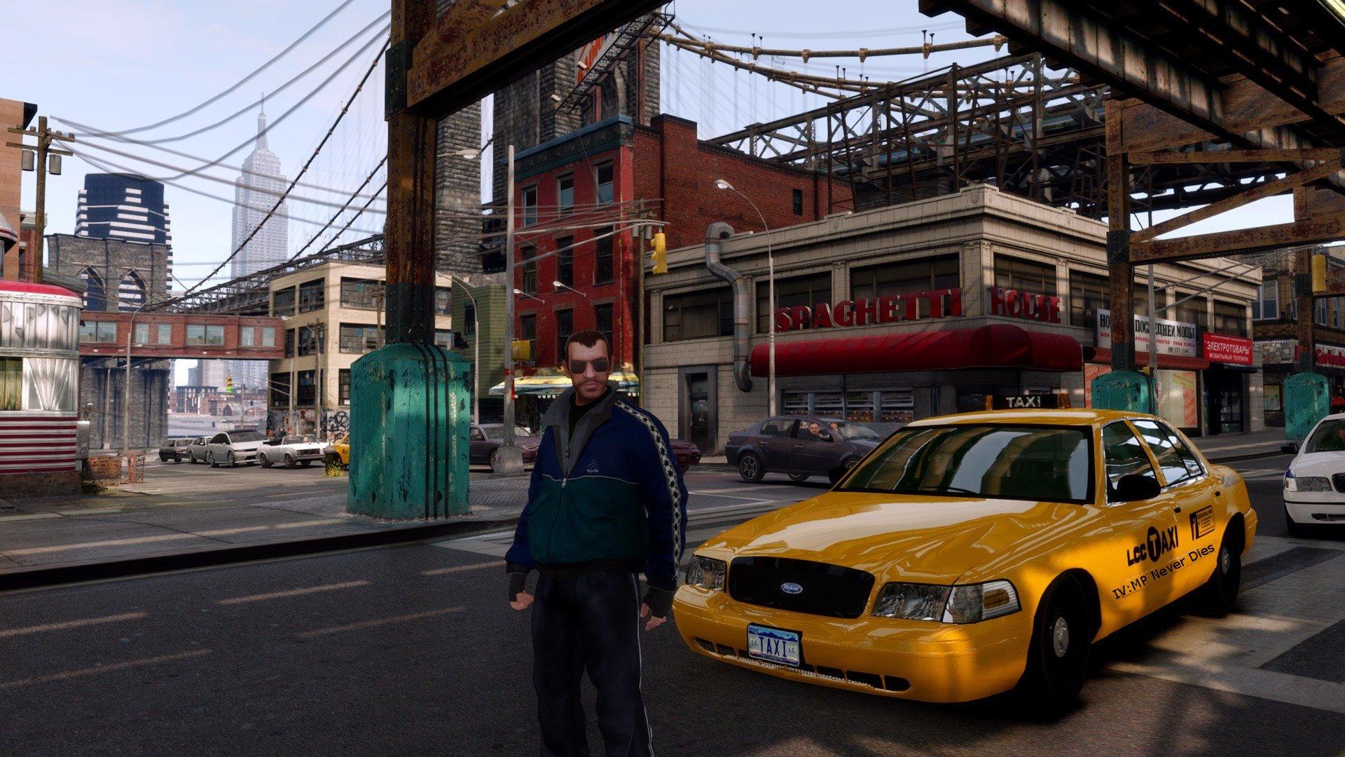 Скриншот из игры GTA IV.