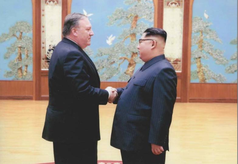 Помпео встречался с Ким Чен Ыном до своего назначения на пост госсекретаря