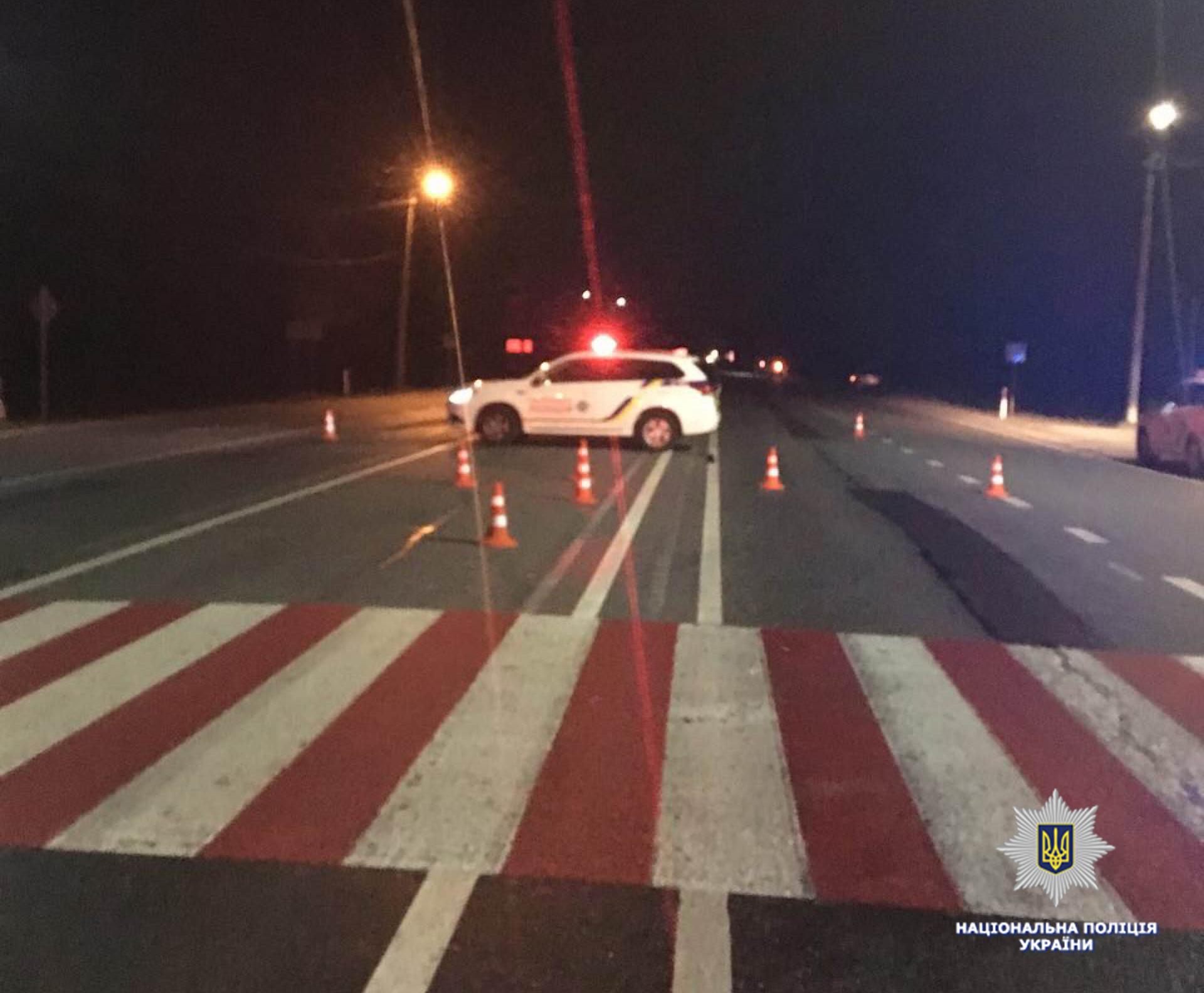 Пьяного водителя, который на Львовщине сбил копа, пока отпустили домой