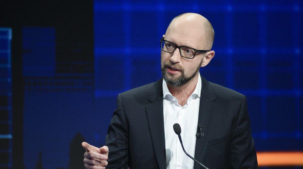 Яценюк не видит условий и оснований для отставки правительства Гройсмана.