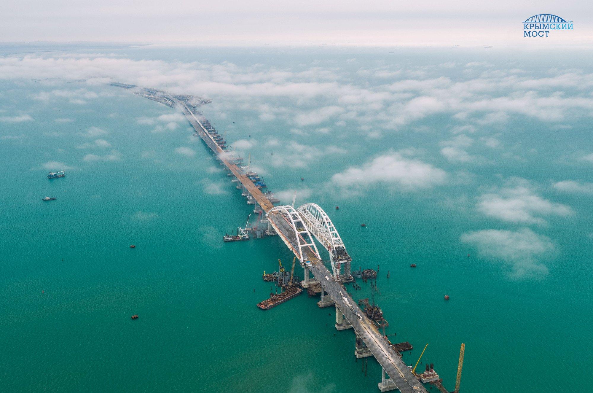 Россия должна компенсировать убытки Украине передачей Крымского моста.