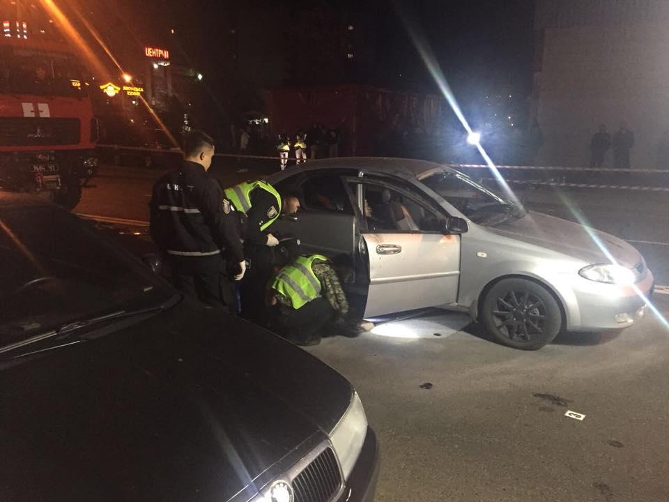 В Киеве прогремел взрыв в авто