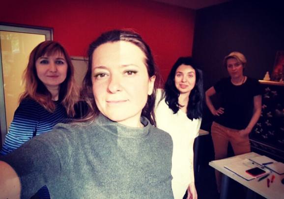 Наталья Могилевская сфотографировалась без микияжа