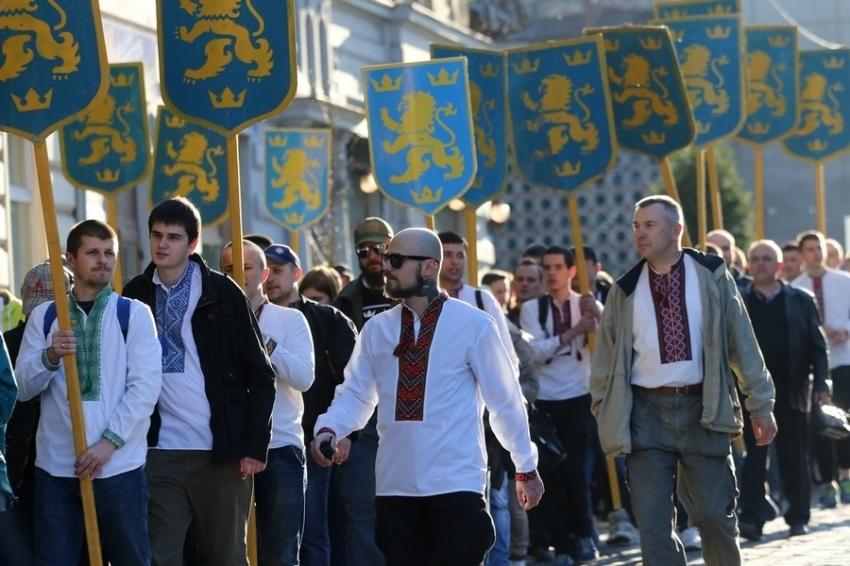 Марш величия и духа в честь СС