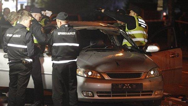 Очевидцы взрыва на месте оказывали помощь пострадавшему