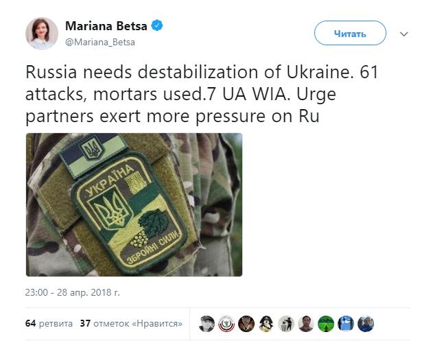 В МИД уверены, что РФ стремится к дестабилизации Украины.