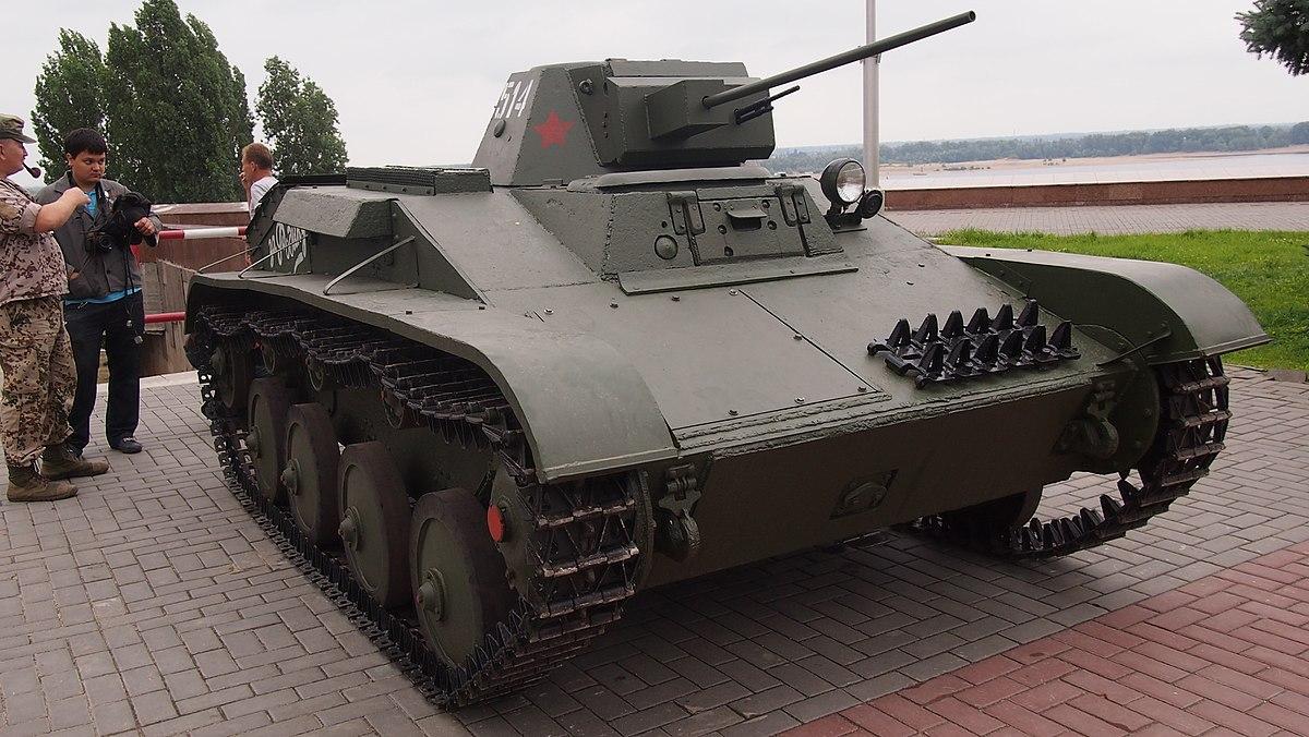 Танк Т-60 -