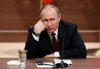 Путину испортили настроение