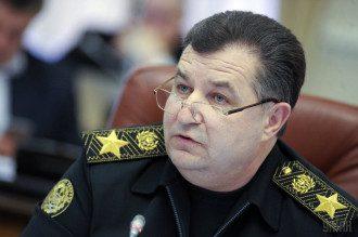 Степан Полторак заявил о существенном отличии военных действий на Донбассе и в Чечне