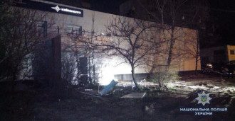 """Взрыв возле """"Киевэнерго"""" прогремел в ночь на 15 апреля."""