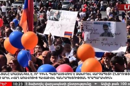 Люди в центре Еревана
