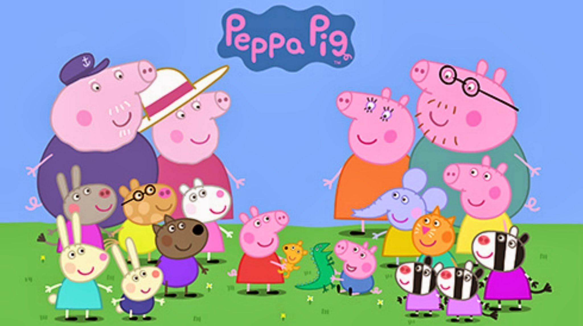 В Китае заблокировали свинку Пеппу.