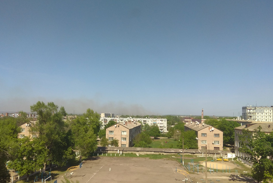 Сегодня в Балаклее на военном арсенале взрывались боеприпасы