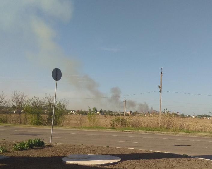 Вчера в Балаклее пожар на военном арсенале был локализован