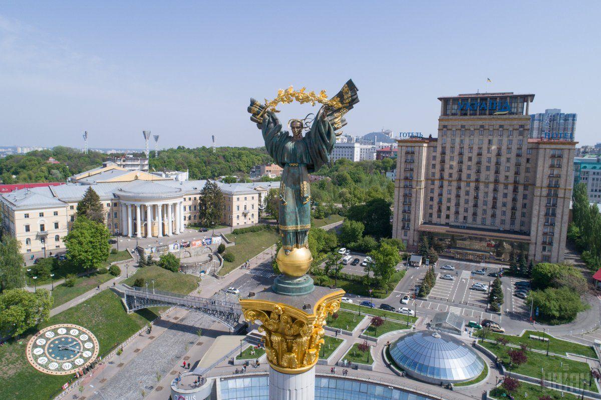 Панорама центра Киева