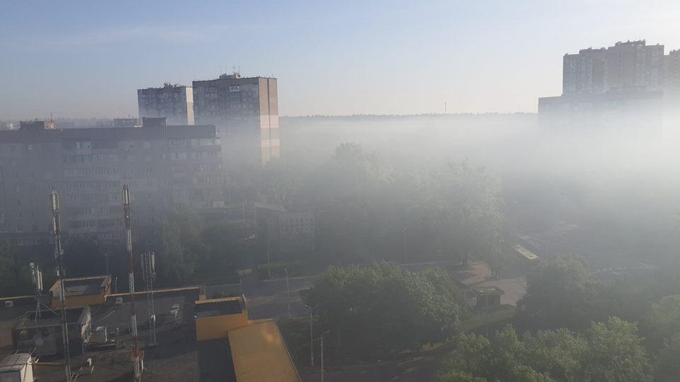 Cиноптик объяснила, что в Киеве смог появляется, когда продукты сгорания поднимаясь в воздух и