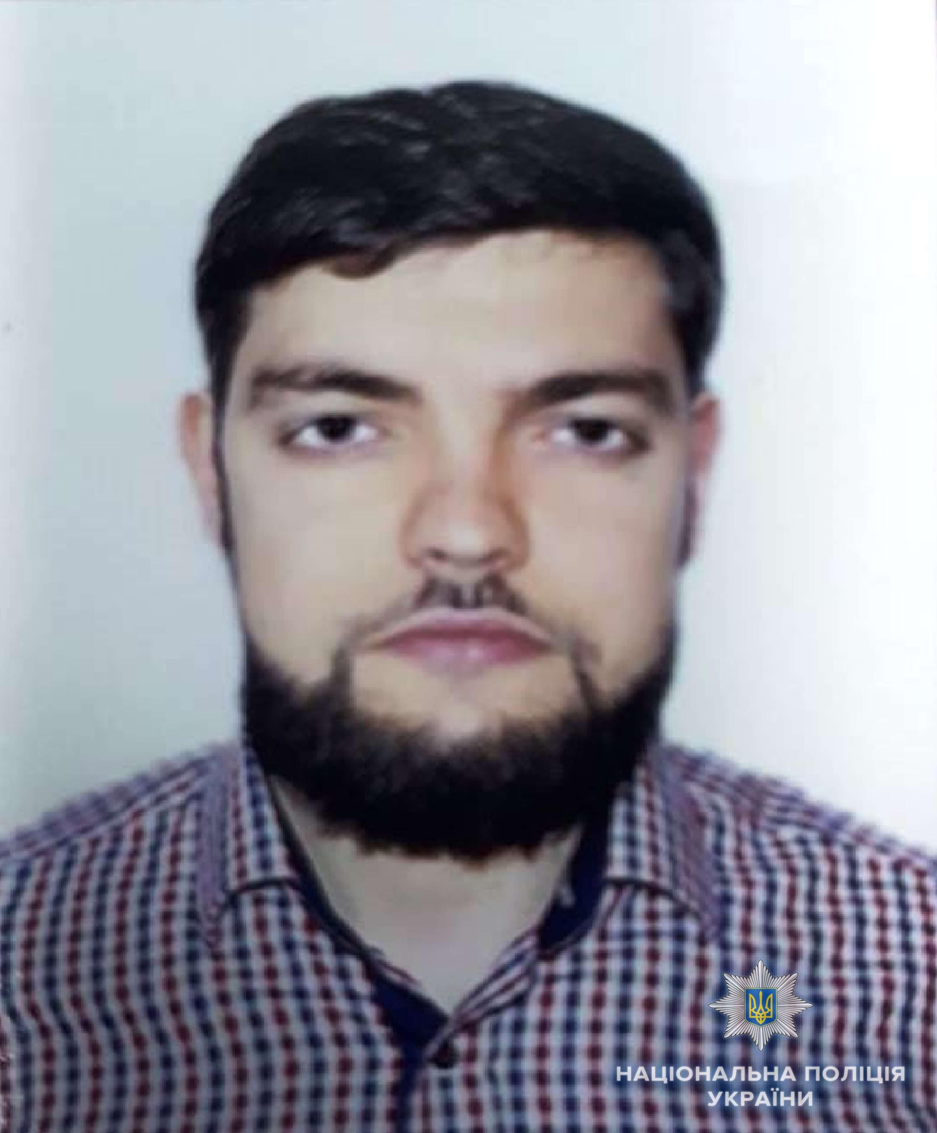 Задержанный Магомед-Амин Саитов