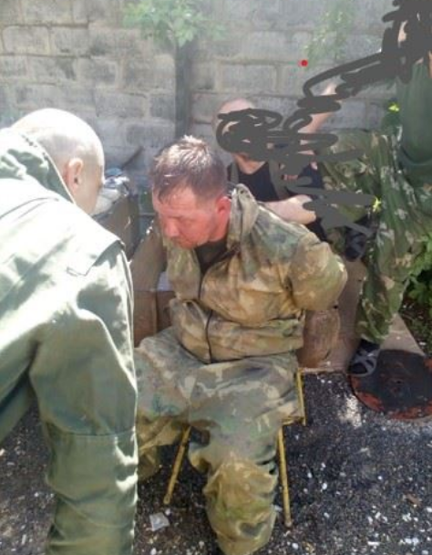 На Донбассе украинские военные во время рейда взяли в плен боевика