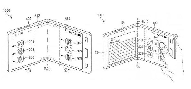 Запатентован гибкий и прозрачный смартфон
