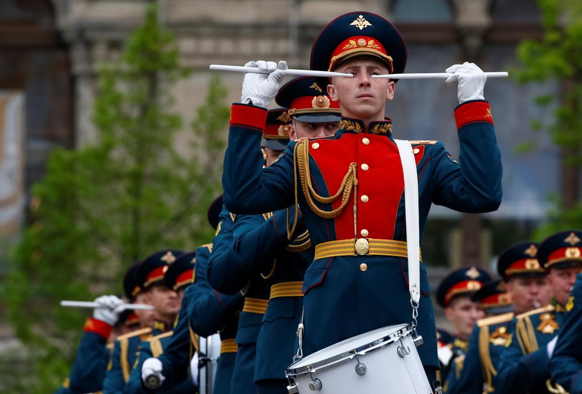 В Москве отрепетировали парад ко Дню Победы