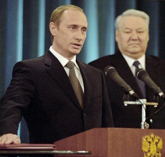 18 лет назад. Инаугурация Владимира Путина, 7 мая 2000 года.