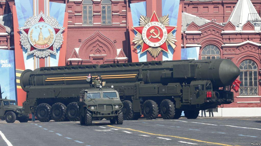 Парад на Красной площади 9 мая 2014 года