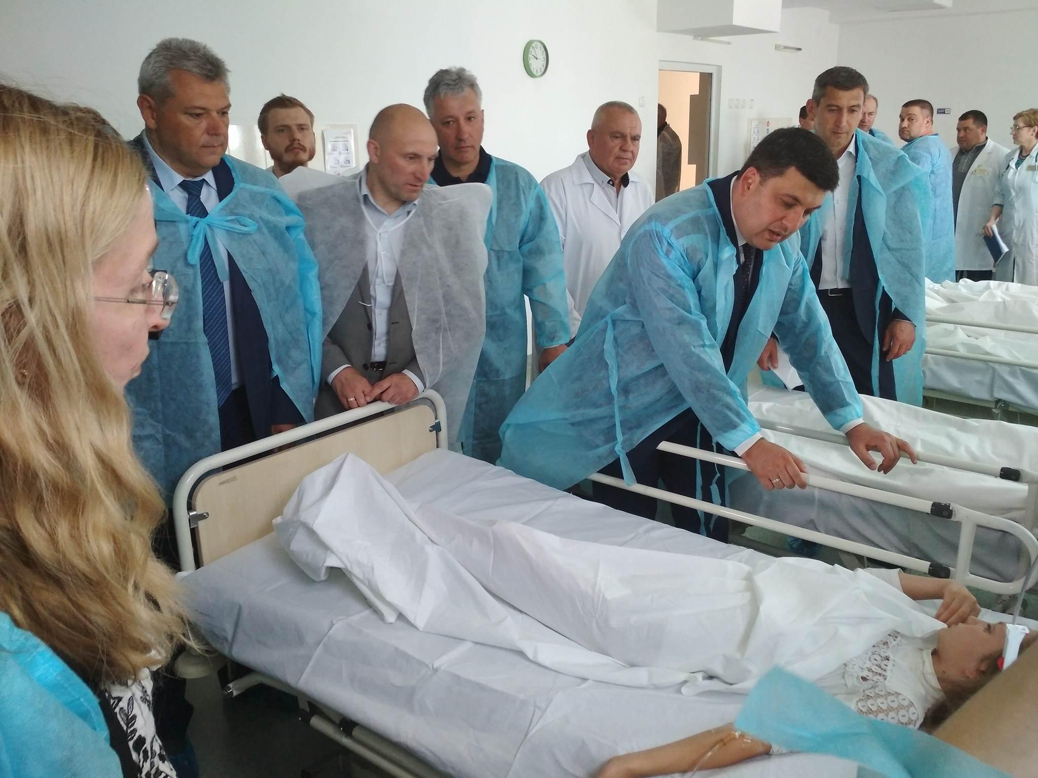 Школьников в Черкассах посетили Супрун и Гройсман.