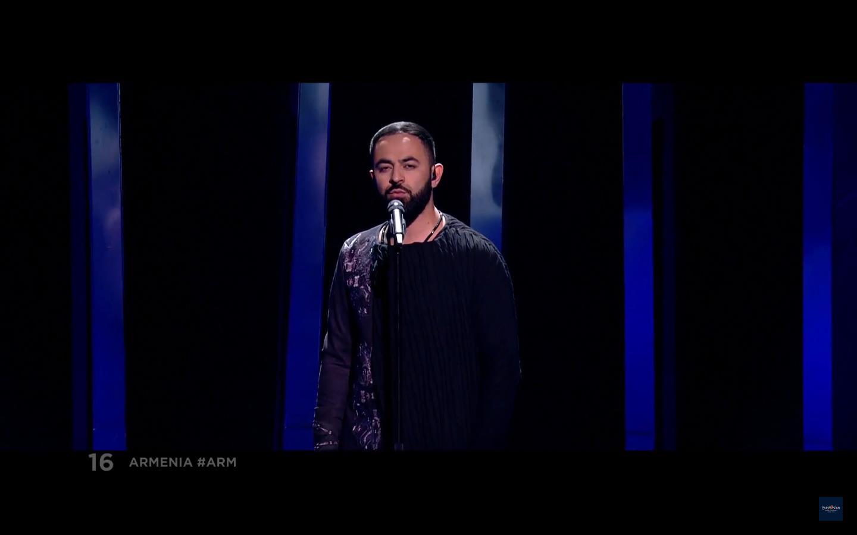 Артист представил родную Армению