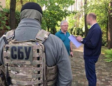 СБУ пришла с обыском к Петру Симоненко