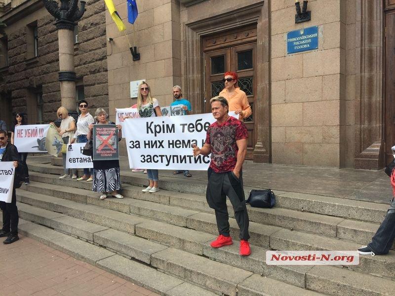 Анна Кукурина нецензурно высказалась в адрес чиновников Николаева