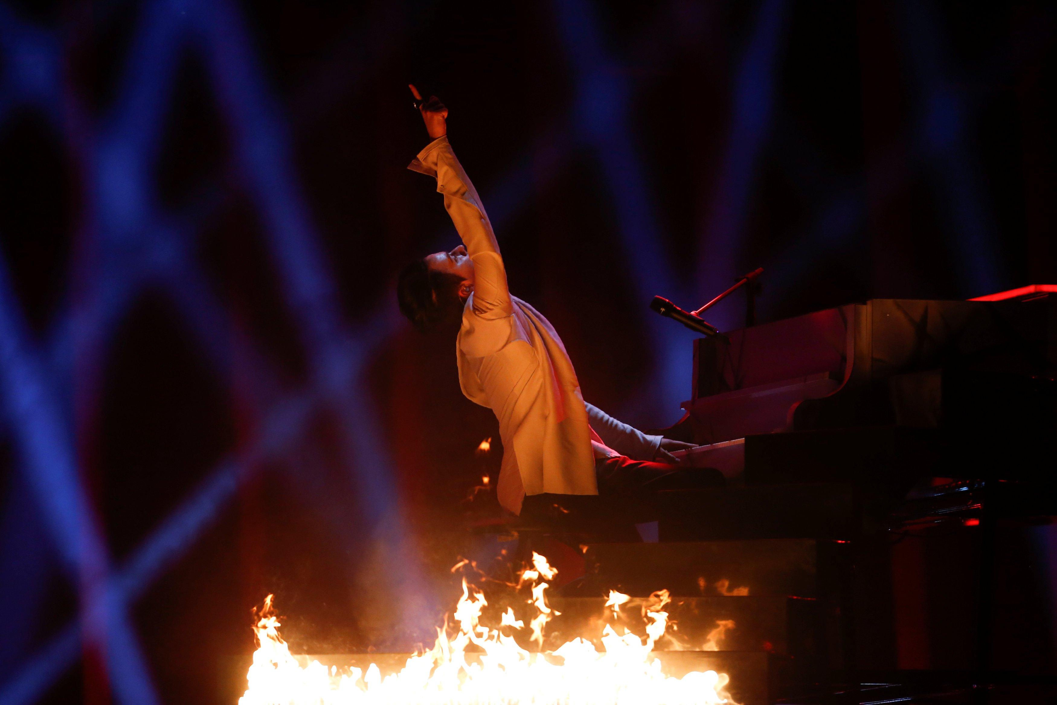 Украинский певец Melovin выступит первым в финале