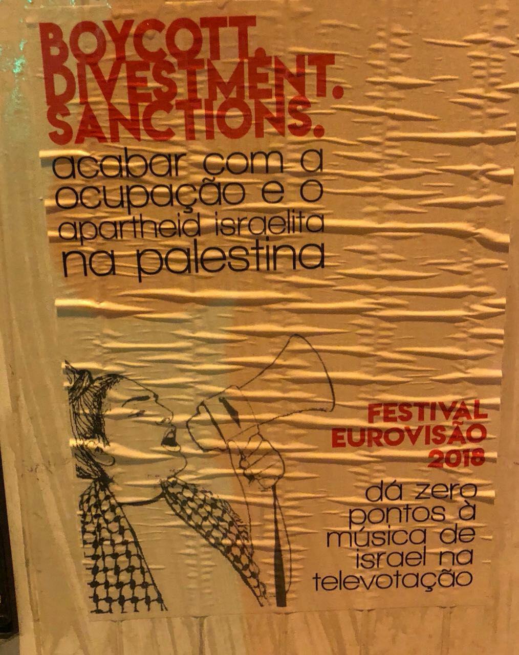 В Лиссабоне призывают объявить бойкот израильской конкурсантке