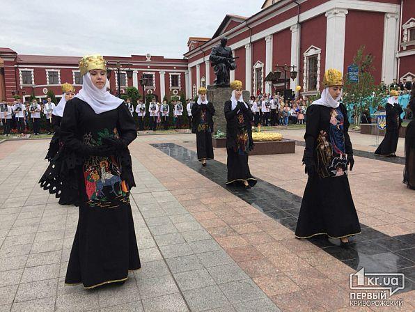 Криворожане исполнили пропагандистскую песню авторства Марии Захаровой