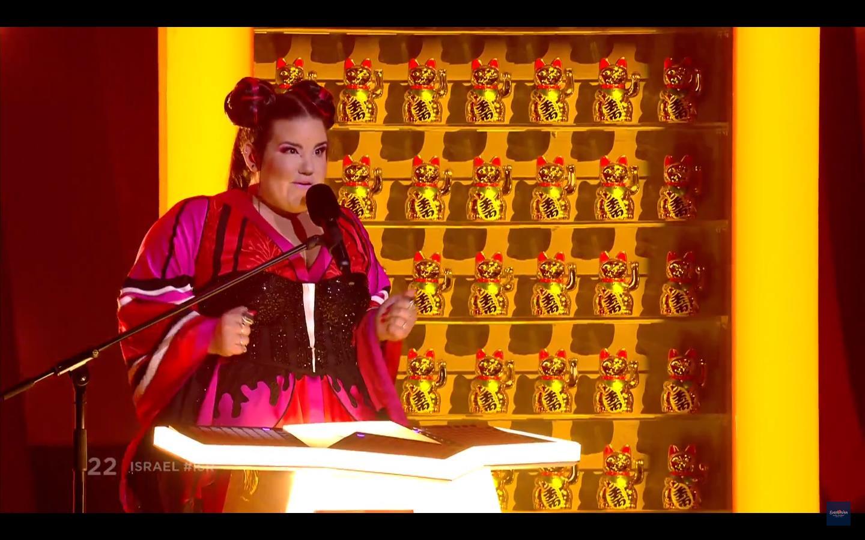 Нетта Барзилай выиграла Евровидение-2018