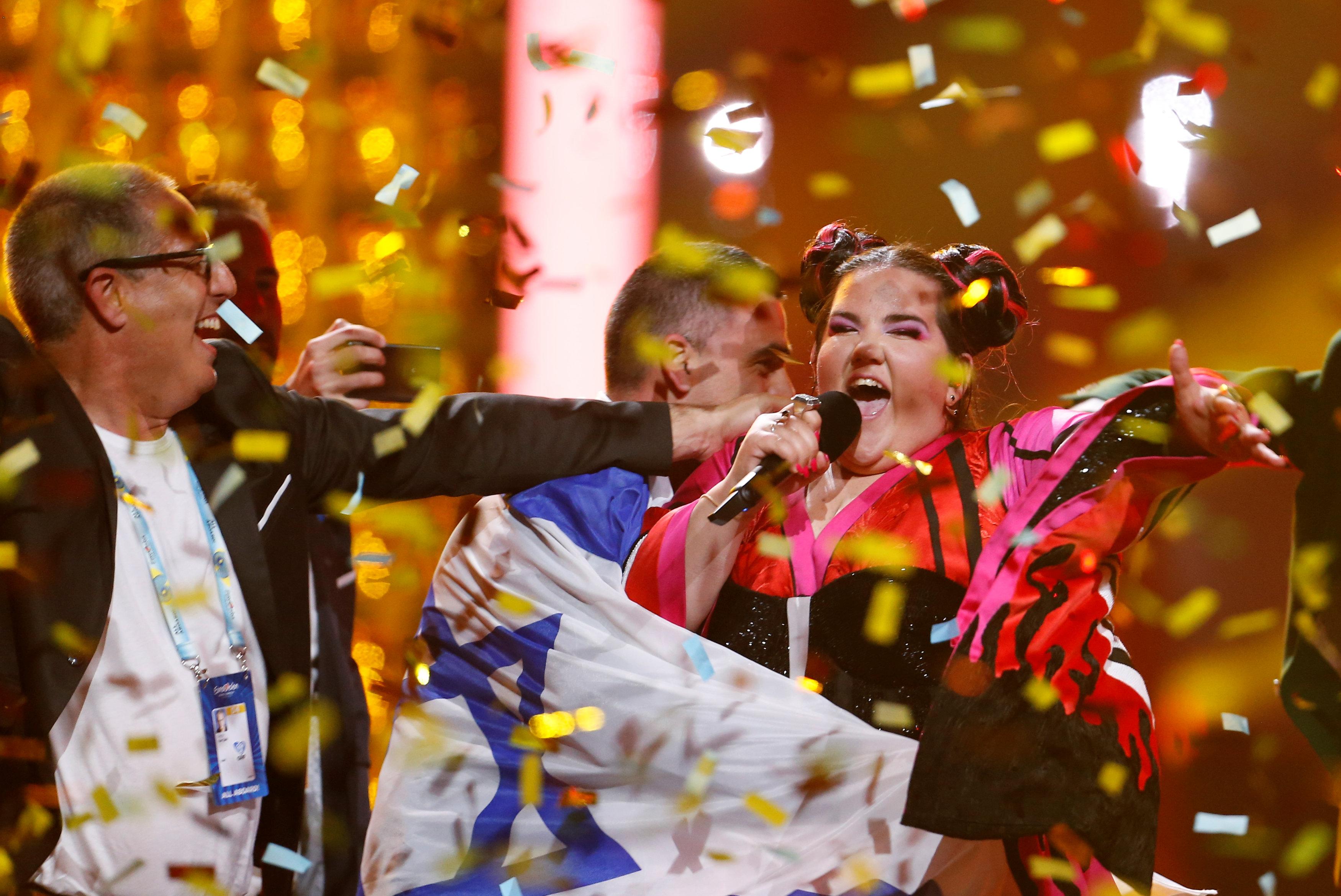 Нетта принесла победу Израилю