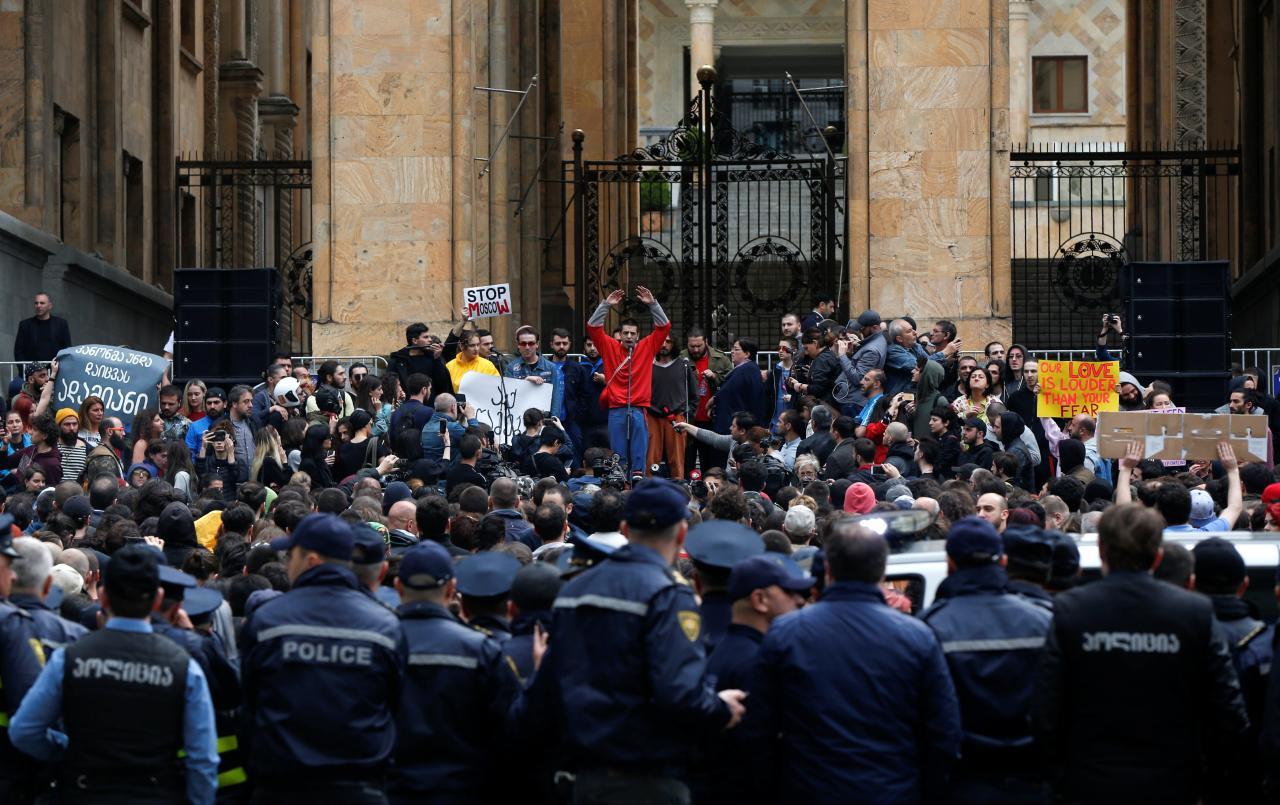 Тбилиси протесті