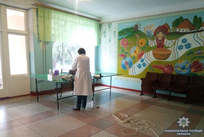 Школа в Новоукраинке. Рекреация