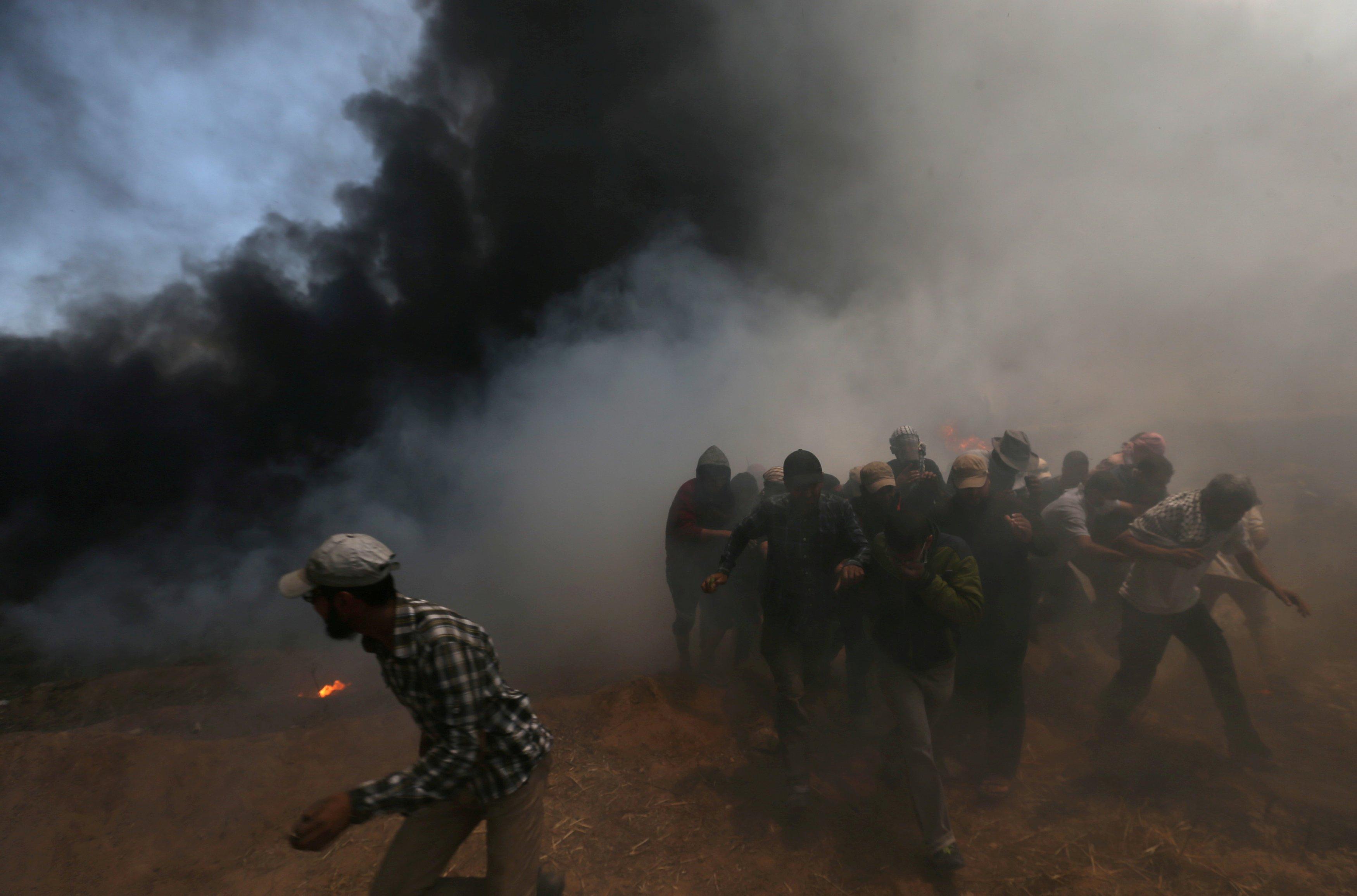 Протесты в Иерусалиме 13 мая закончились кровью.