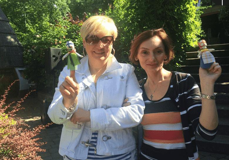 Валерия Гонтарева и Екатерина Рожкова