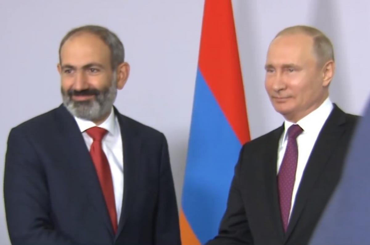 Встреча Пашиняна и Путина